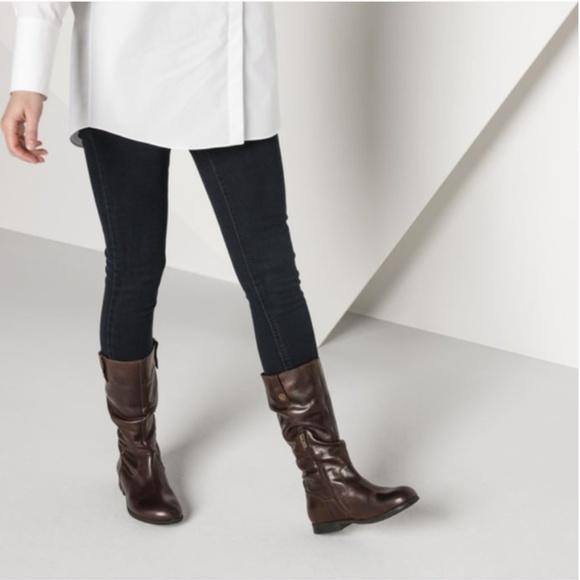 fda0cd233fc8c Birkenstock Sarnia High Brown Leather Boots sz 40
